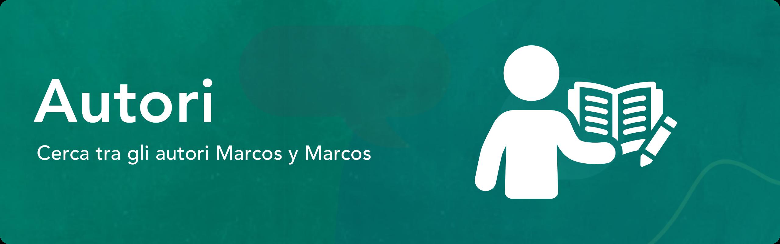 Catalogo autori Marcos y Marcos